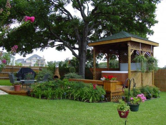 Austin Hot Tub Enclosure