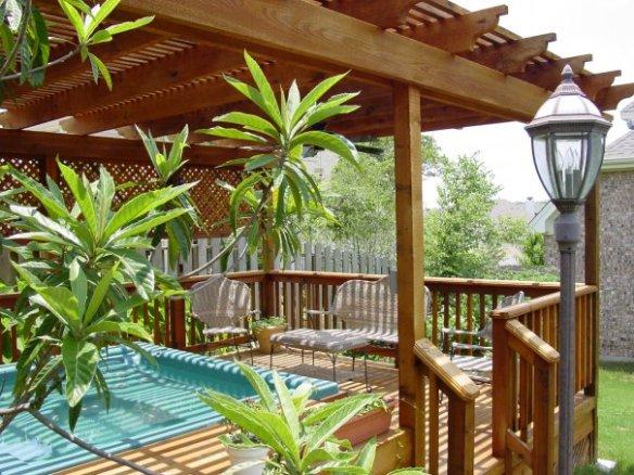 Austin Pool Enclosure with Pergola