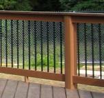 TimberTech deck and TimberTech railing