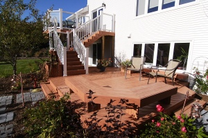 TimberTech deck in Nova Scotia