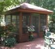 How about a detached screen porch via archadeck custom for Detached sunroom