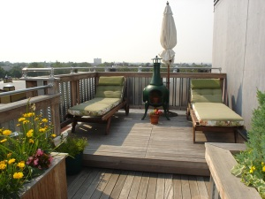 IPE Brazilian hardwood roof deck from Rhode Island Builder - Archadeck