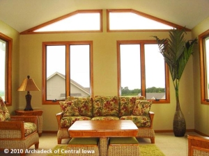 Sunroom West Des Moines Iowa with Jeld-Wen windows