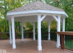 Custom gazebo in Chadds Ford PA
