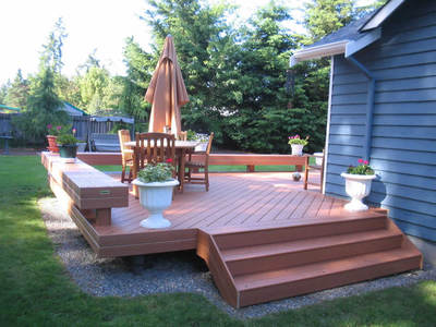 Deck Benches | Archadeck Custom Decks, Patios, Sunrooms, And Porch .