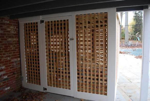 Pdf Lattice Privacy Screen For Deck Plans Diy Free Bunk