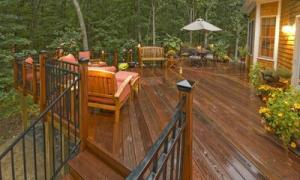 exotic hardwood deck by Archadeck