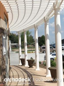 This Pergola built by Archadeck of Des Moines is breathtaking and truly unforgettable.