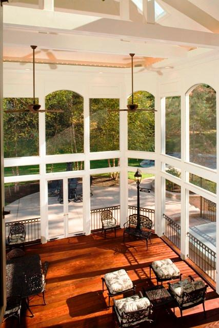 Arch. of maryland screened porch w skylights