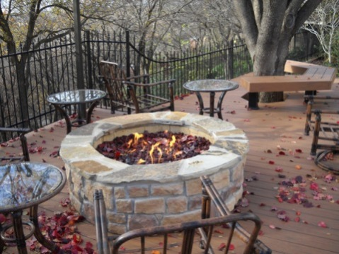Fort worth fire pit
