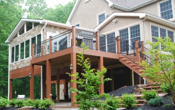 Archadeck of Chester County sunroom and deck