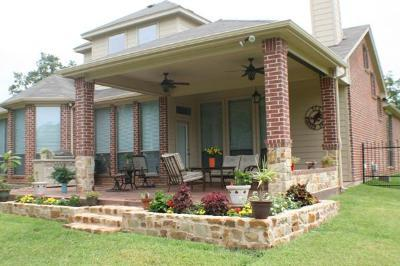 Covered patio by Archadeck of Fort Worth