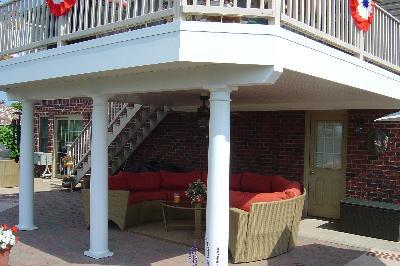 Another example of an Archadeck rain deck