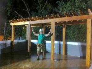 TimberTech Rooftop Deck