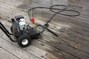 Power Washing your Deck