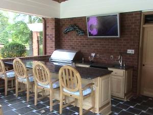 Galley Outdoor Kitchen