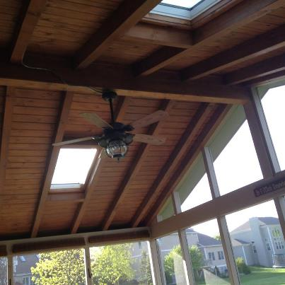 Sky lights | Archadeck custom decks, patios, sunrooms, and porch ...