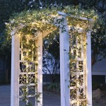 This is a great example from Better Homes and Gardens of how to use garland in a new way