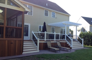 deck, patio and screened porch