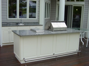 outdoor kitchen design idea
