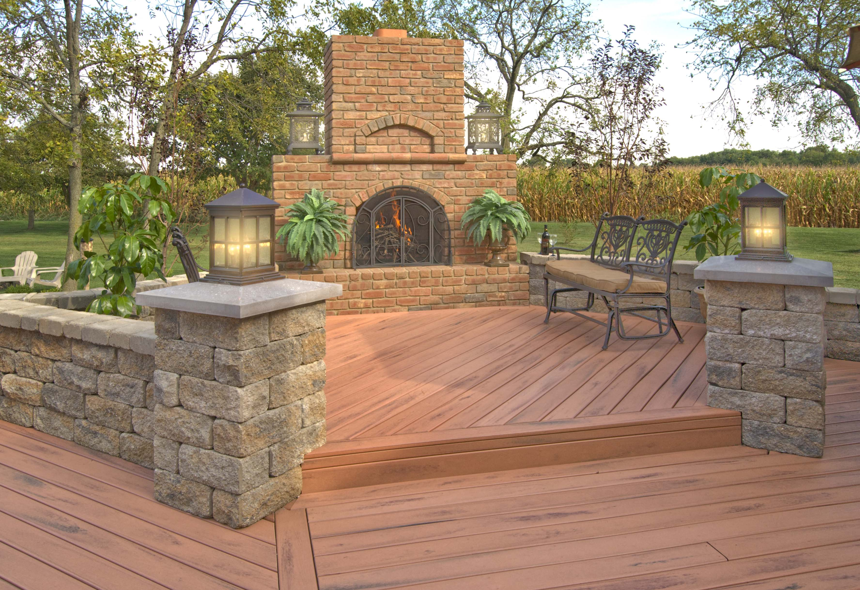 Superb Firepits And Outdoor Fireplaces Most In Demand Outdoor Living Feature