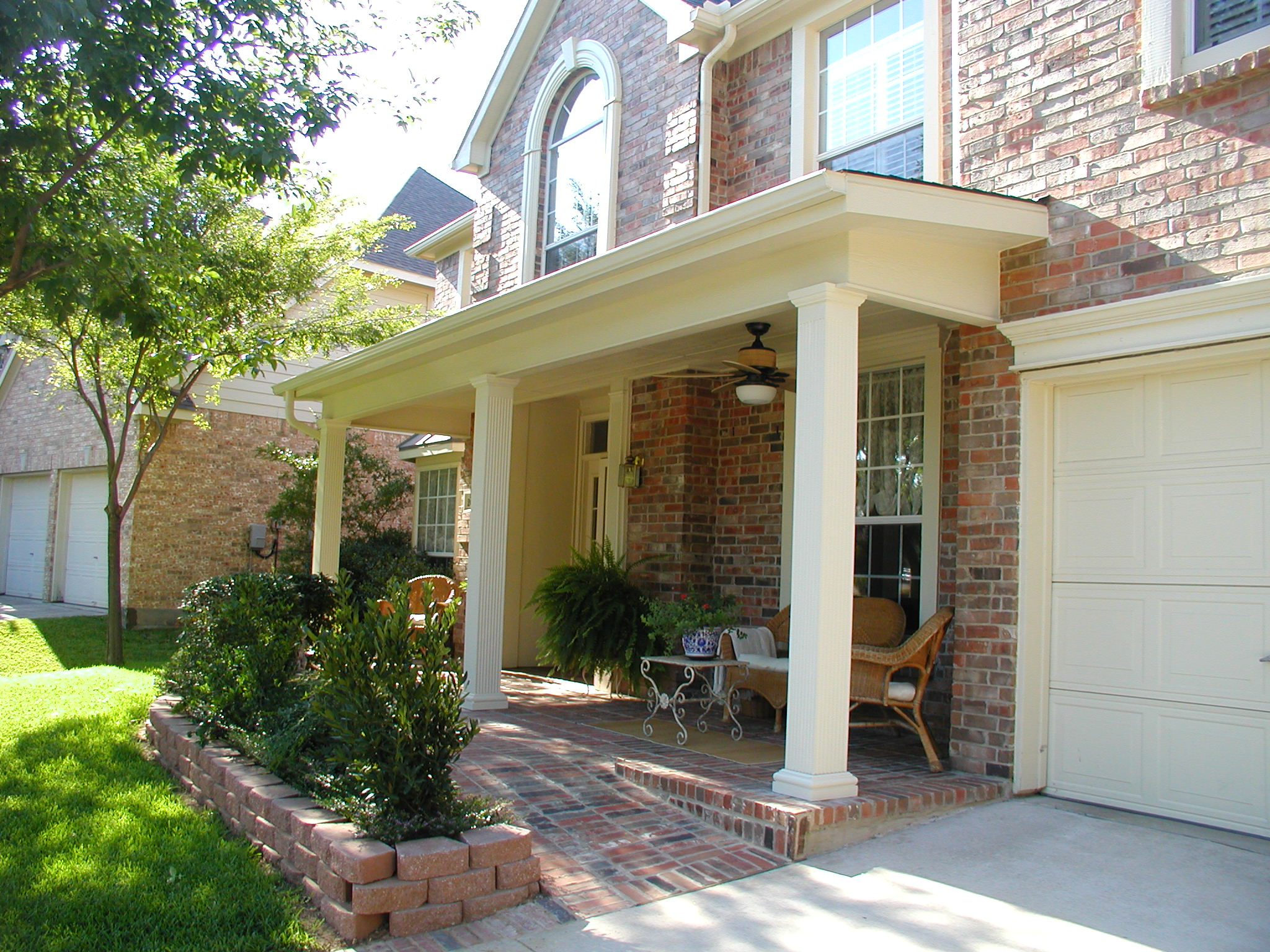 Image from for Front porch patio ideas