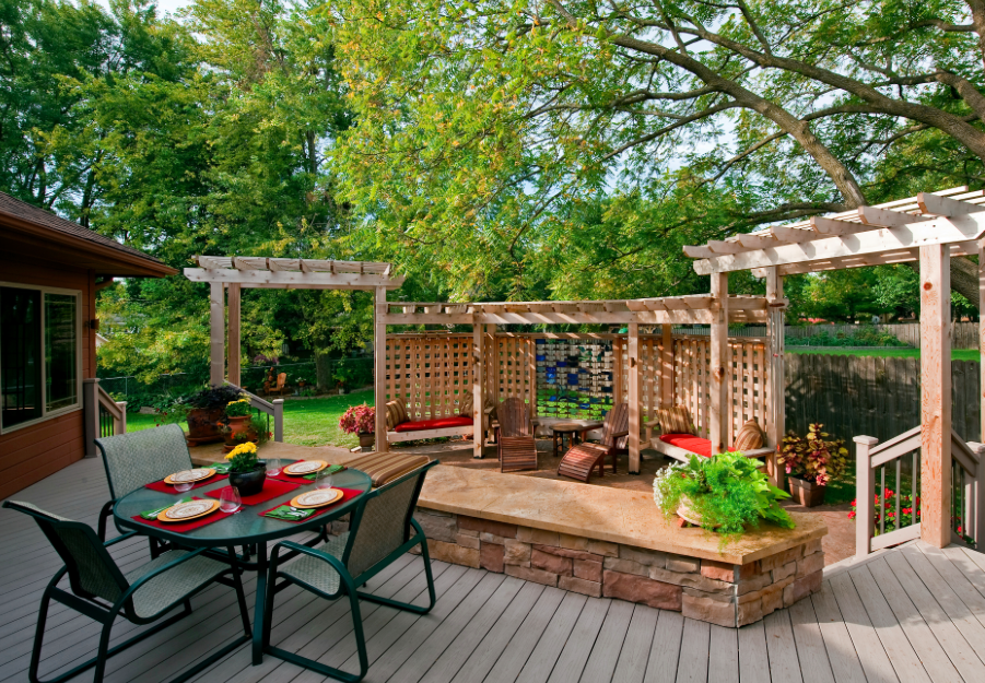 Archadeck custom decks patios sunrooms and porch builder
